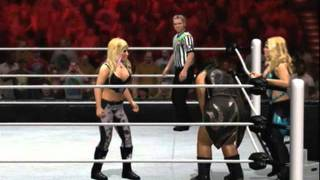Kelly Kelly & Kharma Vs Divas Of Doom (Part 1) (WWE 12) (X Box 360)