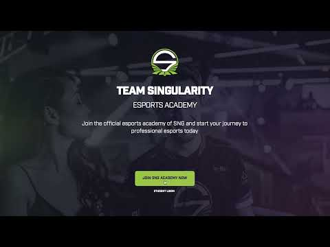 Team Singularity | The biggest Esports Academy in the World | Join now!