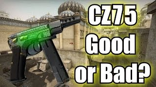 CZ75 Auto Pistol - Should YOU use it? (CS:GO)