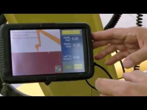 ExcaVision Grade Control System Video