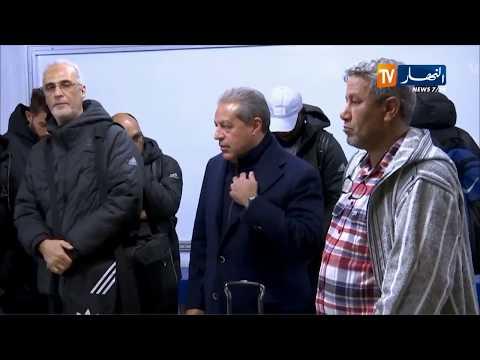 الأهلي المصري يصل لبشار قادما من العاصمة تحسبا لمواجهة شبيبة الساورة