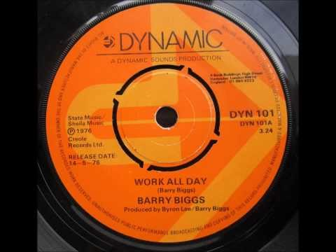 Barry Biggs - Work all Day