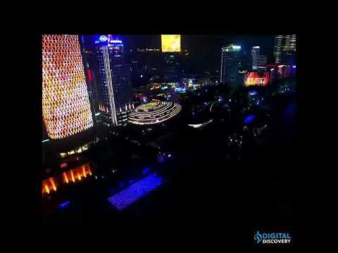 Shanghai : 2.000 drones ont assuré le spectacle de 2020