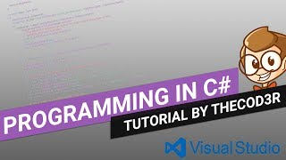 Visual Studio 2017 For Absolute Beginners Episode 1: Console Applications and C#