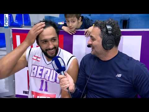Alfa Basketball Championship - Beirut v Mouttahed - Post Game Ali Haidar