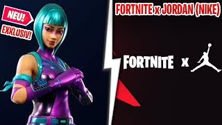 "😱 FORTNITE x NIKE (Jordan) THE NEW EVENT! 🏀 NEW EXCLUSIVE SKIN ""WONDER"" in Fortnite!"