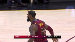 4th Quarter, One Box Video: Cleveland Cavaliers vs. Atlanta Hawks