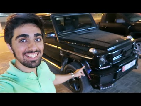 Riding a Mercedes G-Wagon !!!