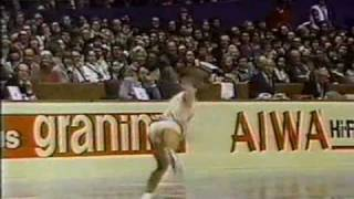 Katarina Witt (GDR) - 1980 Worlds, Ladies' Long Program