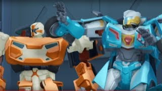 Тоботы новые серии -4 Серия 2 сезон - мультики про роботов трансформеров [HD]