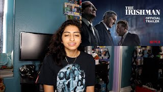 The Irishman (Official Trailer Premiere) REACTION