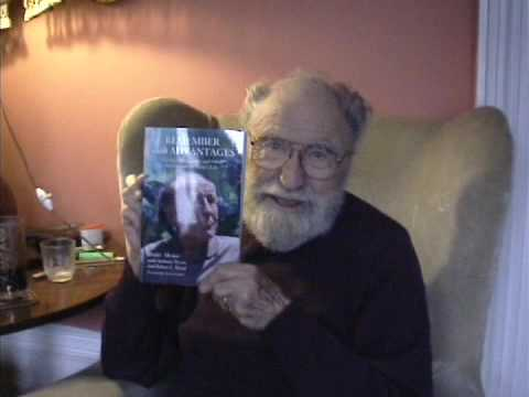 "Barry Morse plugs his book, ""Remember with Advantages"""