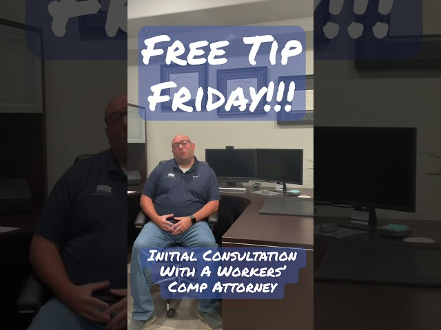 Initial Consultation With A Workers' Comp Attorney   BDT Law #shorts