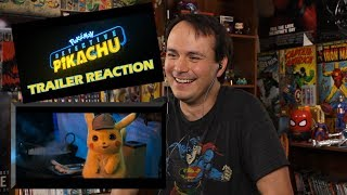POKÉMON Detective Pikachu - Official Trailer #1 REACTION