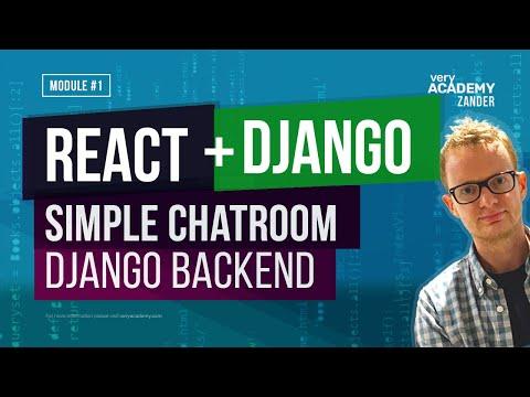 Learn React & Django - Chatroom Concept - React/Django+Channels Chatroom Heroku Deploy
