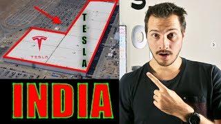 Tesla India Gigafactory Coming?! Elon Musk 🤔