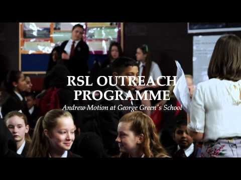 Royal Society of Literature trailer  - passing on the word