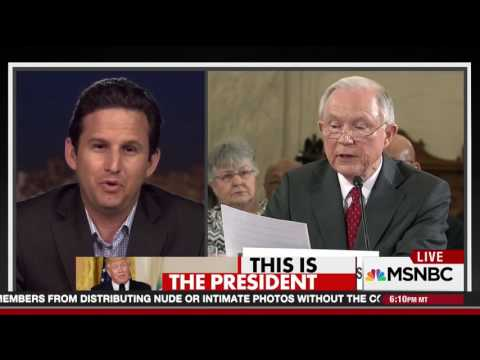 MSNBC: Schatz Slams Jeff Sessions On