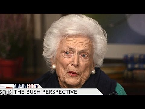 Barbara Bush Attacks Trump