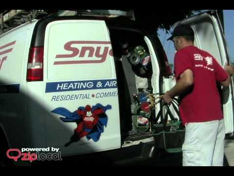Snyder Heating Air Conditioning Company 904 641 0600