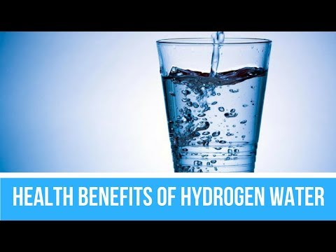 8 Health Benefits Of Hydrogen Water - Health Cure & Tips