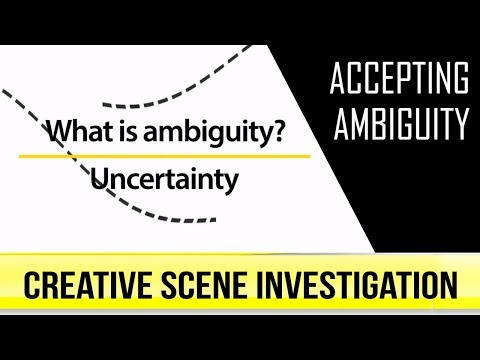 Why Ambiguity plays a critical role in Creative Thinking
