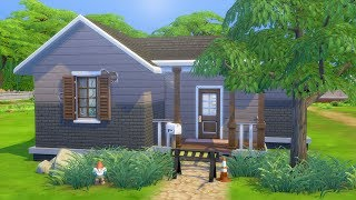 RUNDOWN STARTER HOME (UNDER $10k) // The Sims 4: Speed Build