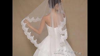 Фата к свадебному платью из Китая. Огромный выбор!