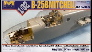 1/32 HK B-25B DOOLITTLE BUILD PART 17B
