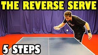 5 Steps To Master The Reverse Pendulum Serve | Table Tennis