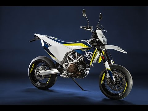 2015 Husqvarna 701 Supermoto Concept | Engine type Single cylinder, 4-stroke Displacement 690 cc