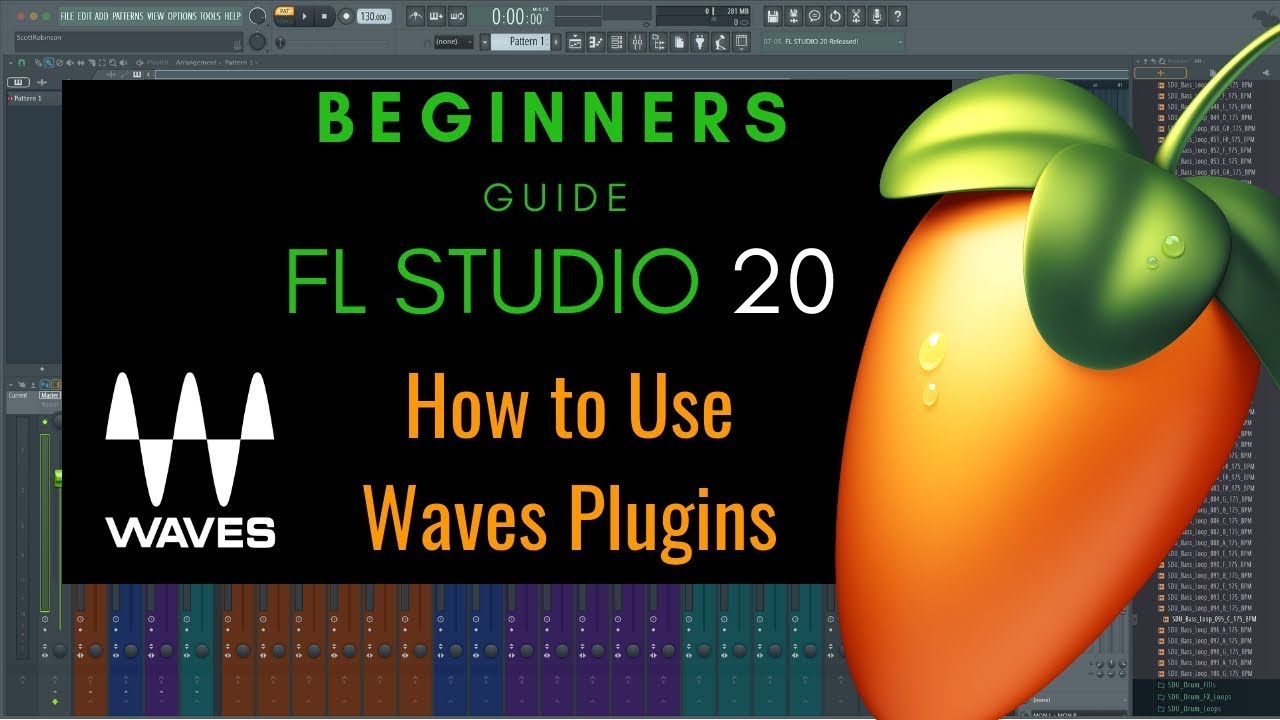 How to Use Waves Plugins in FL Studio 20