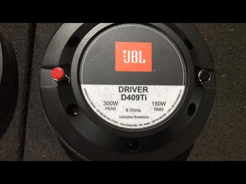 Review Driver Titânio JBL D409 ti