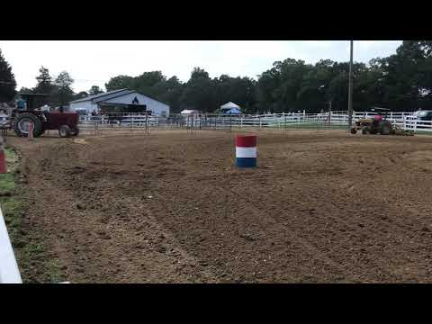 Chic Winning The Billy Smith Memorial Barrel Race