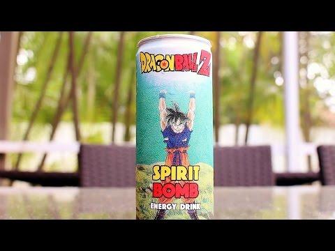 Dragon Ball Z Review - Spirit Bomb Energy Drink!!!