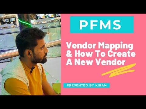 PFMS  Vendor
