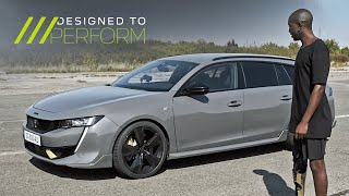 NEW 508 PEUGEOT SPORT ENGINEERED - DESIGNED TO PERFORM – Wired to the ground