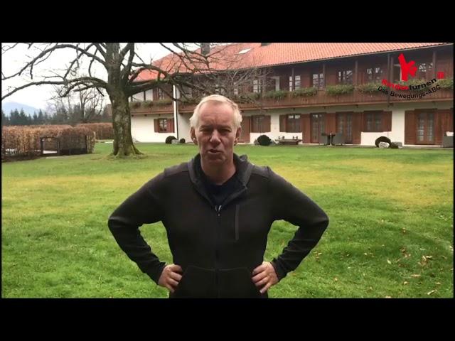 Johannes B. Kerner ist Botschafter der Offensive Kinderturnen