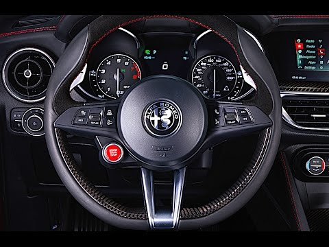 alfa romeo stelvio interior review alfa romeo suv quadrifoglio interior 2018 carjam youtube. Black Bedroom Furniture Sets. Home Design Ideas