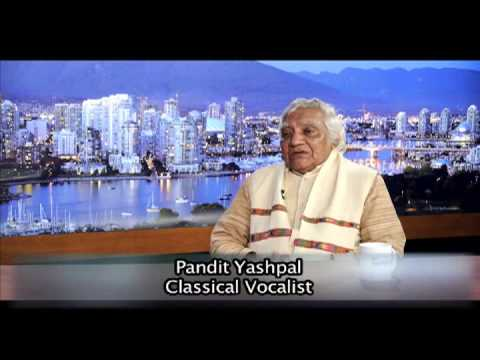 Interview with classical vocalist Pandit Yashpal