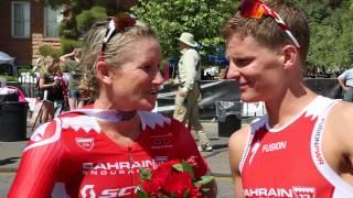 Bahrain Endurance 13 - Jodie & Brent@ IM 70.3 St. George