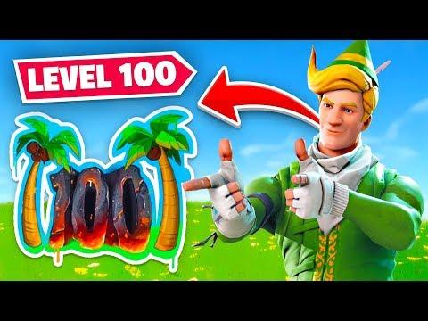 I FINALLY HIT *MAX* LEVEL 100 In Fortnite!