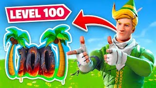 I FINALLY HIT *MAX* LEVEL 100 In Fortnite!