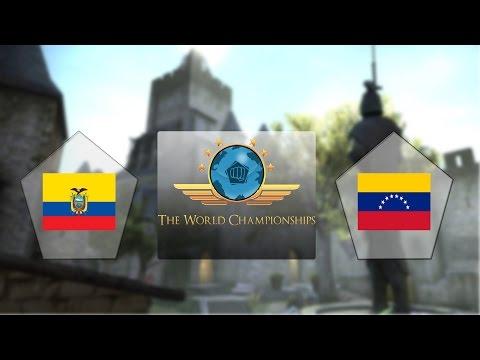 E-Frag TWC - Equador vs. Venezuela (Mapa 2 - Cbble) - Qualificatório Sul-Americano