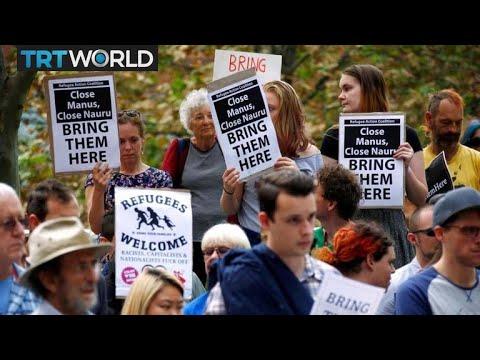 Why is Australia sending asylum seekers to an 'open-air prison' in Nauru?
