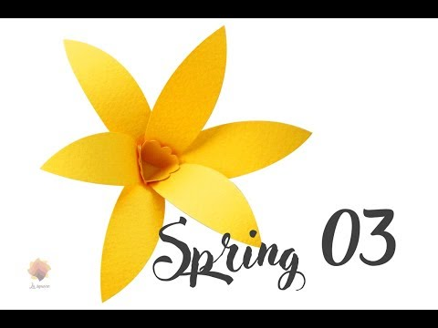 Easy doing Spring 03 cardstock DIY Paper flower backdrop