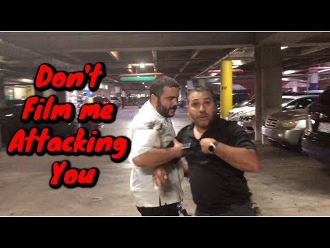 Parking Garage Security Guard goes on a Rampage over Illegal Parking