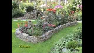 видео Бордюры из цветов