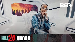 "Quavo Performs Tribute To Pop Smoke With ""Shake The Room"" & ""Aim for the Moon"" 