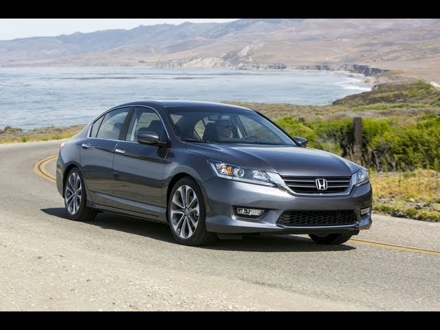 2013 Honda Accord Sport: CVT Vs 6 Speed Manual 0 60 MPH Mashup Review   The  Fast Lane Car
